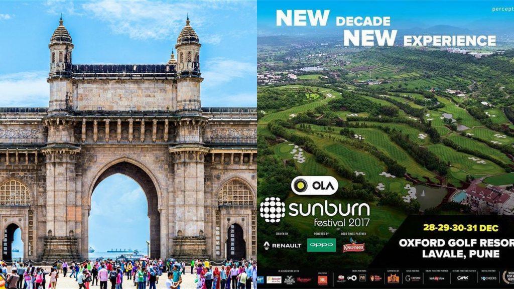 How To Reach Sunburn Music Festival from Mumbai?
