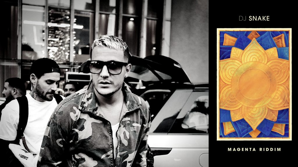 How is DJ Snake's latest track 'Magenta Riddim' actually riddim?